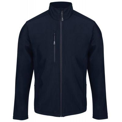 Service Emblem Regatta Honestly Made Recycled Soft Shell Jacket Navy Blue