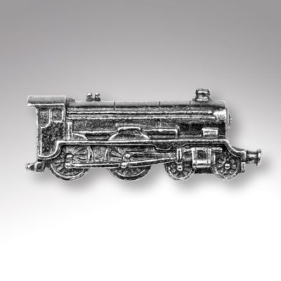 Steam Locomotive Lapel Badge