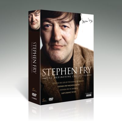 Stephen Fry Collection 6 DVD Set