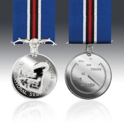 International Submarine Service Full Size Medal