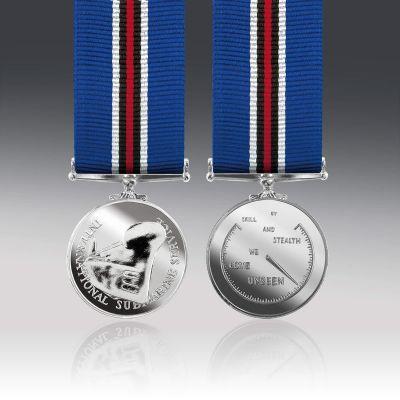 International Submarine Service Miniature Medal