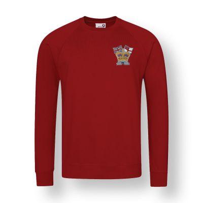 Crown & Country Sweatshirt Claret