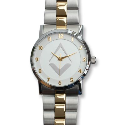 Tercentenary Watch With Silver Dial & Two-Toned Bracelet