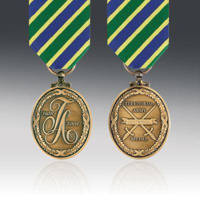 Territorial Centennial Full Size Medal