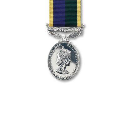 TA Efficiency EIIR Miniature Medal Loose