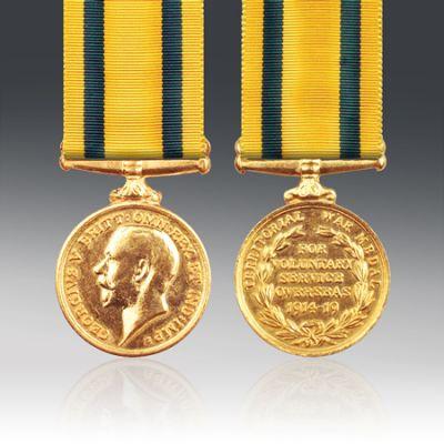 Territorial Force War Medal Full Size Loose