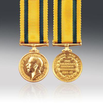 Territorial Force War Medal Miniature Loose