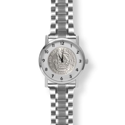 Kings Shilling Watch Silver Bracelet