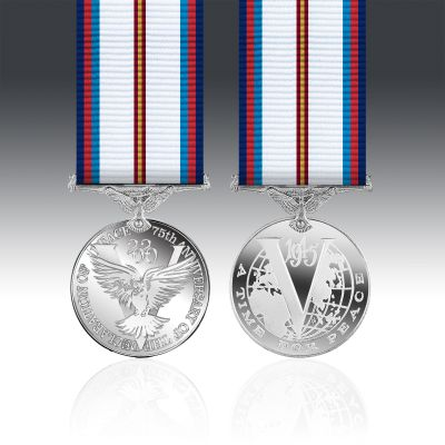 Victory & Peace 75th Anniversary Miniature Medal