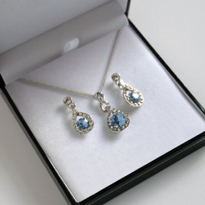 Topaz Elegance Jewellery Set