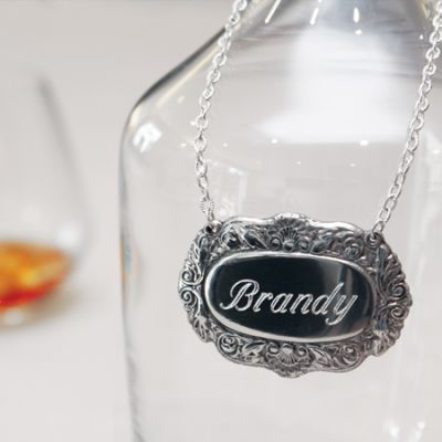 Traditional Decanter Label