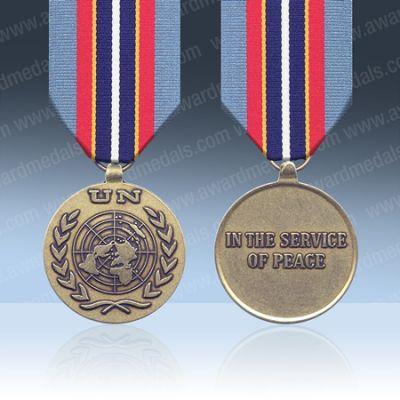 UN Cambodia UNAMIC Full Size Medal Loose