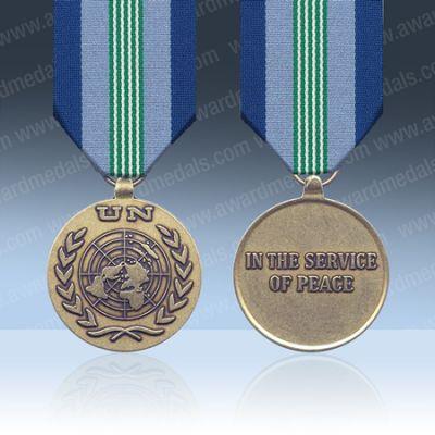 UN Central America (ONUCA) Full Size Medal Loose