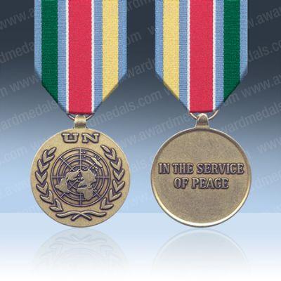 UN Eastern Slovenia Medal UNTAES Full Size Loose