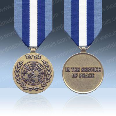 UN El Salvador ONUSAL Full Size Medal Loose