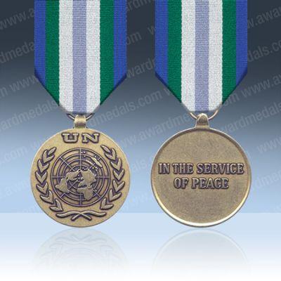 UN Georgia (UNOMIG) Full Size Medal Loose
