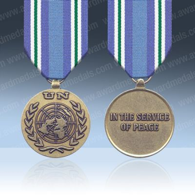 UN Guatemala MINUGU Full Size Medal Loose