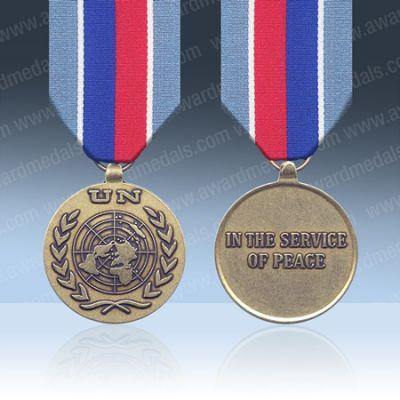 UN Haiti (UNSMIH) Full Size Medal Loose
