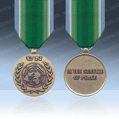 UN India Pakistan (UNMOGIP/UNIPOM) Full Size Medal Loose
