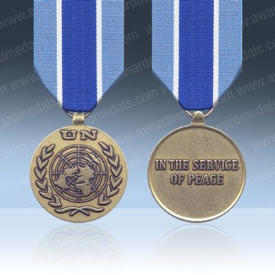 UN Kosovo (UNMIK) Full Size Medal Loose