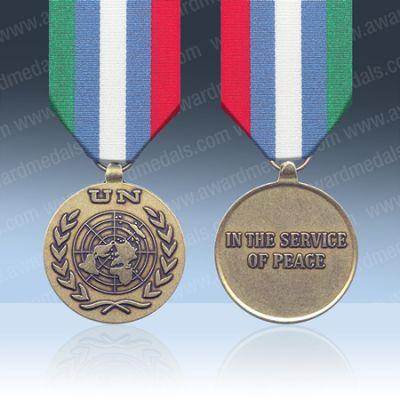 UN Bosnia & Herzegovinia  (UNMIBH) Full Size Medal Loose