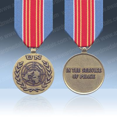 UN Bosnia (UNPREDEP) Full Size Medal Loose