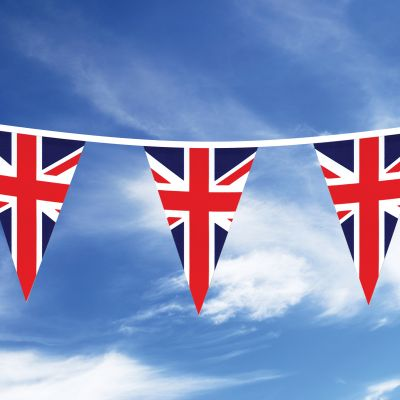 20m Union Jack Triangle Bunting