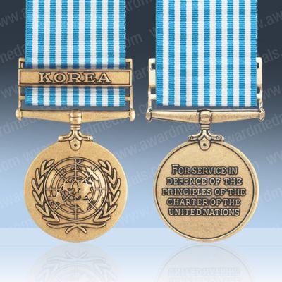 UN Korea Full Size Medal Loose