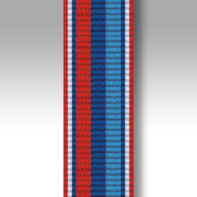 "Veterans Star Miniature Ribbon 6"" Length"