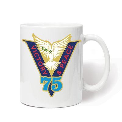 Victory & Peace 75 Mug