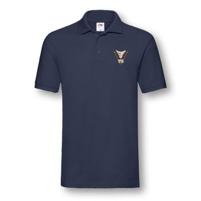 Victory & Peace 75 Navy Blue Poloshirt