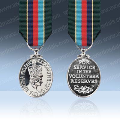 Volunteer Reserve Service Full Size Medal Loose