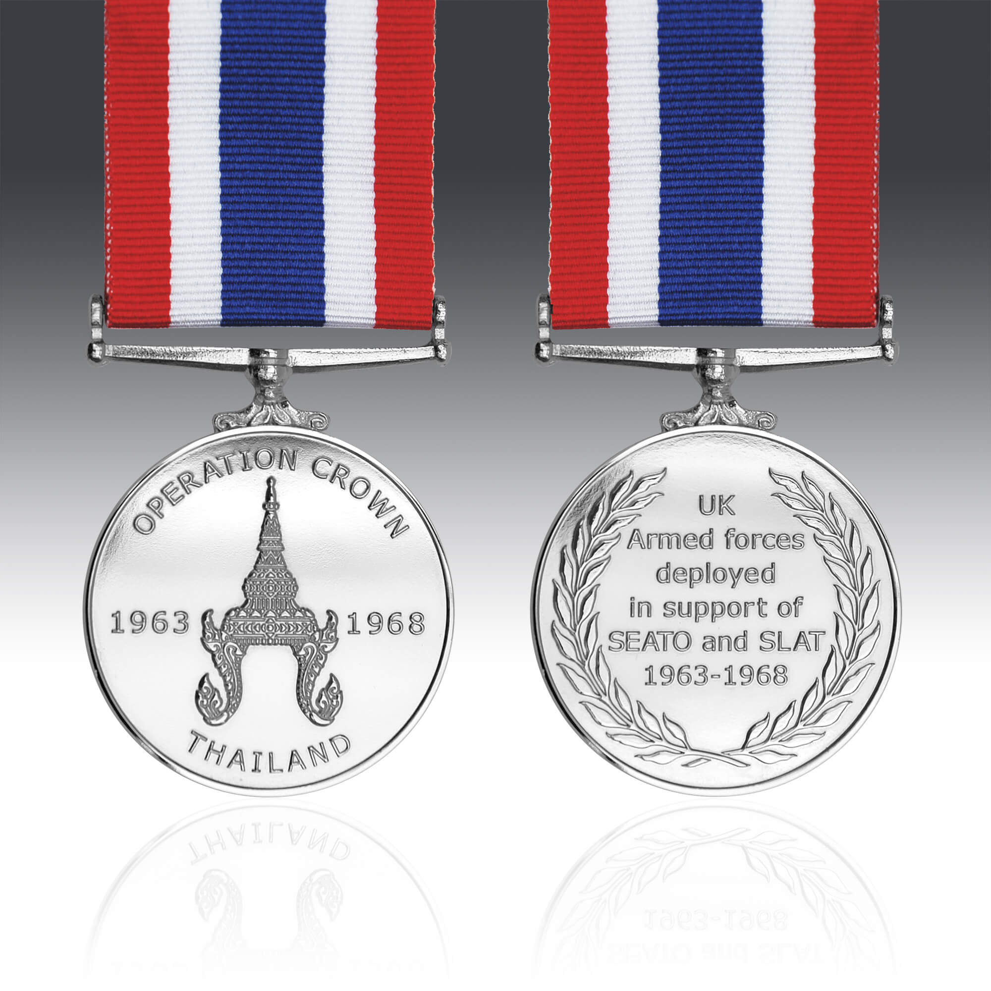 The Operation Crown Commemorative Medal 1963-1968
