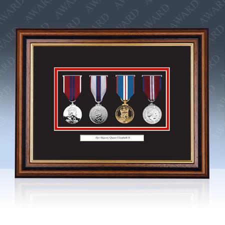 Queens Diamond Jubilee Medal Frame