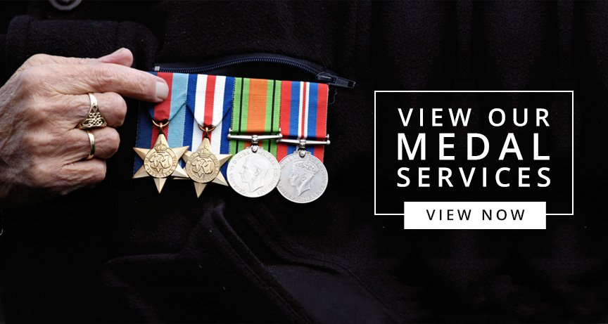 British Military & Army Medals for Sale | Personalised Gift Shop