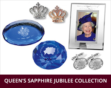 Queen's Sapphire Jubilee Collection