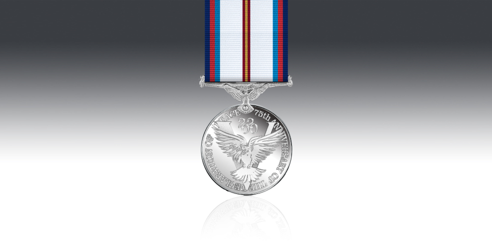 victory & peace medal